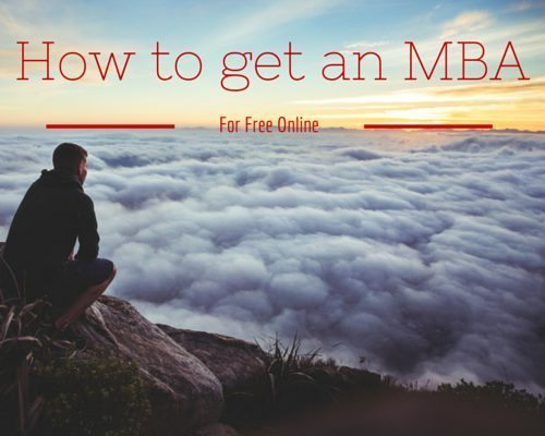 How to Get an MBA for Free with Online Courses