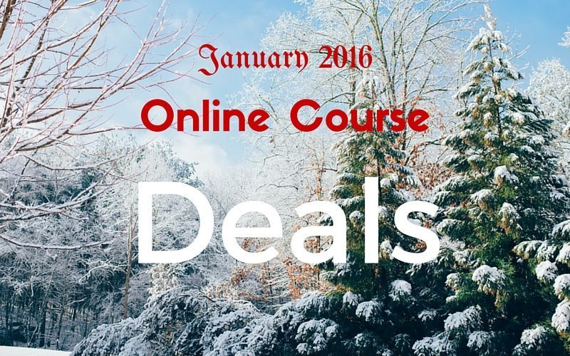 January Online Course Deals