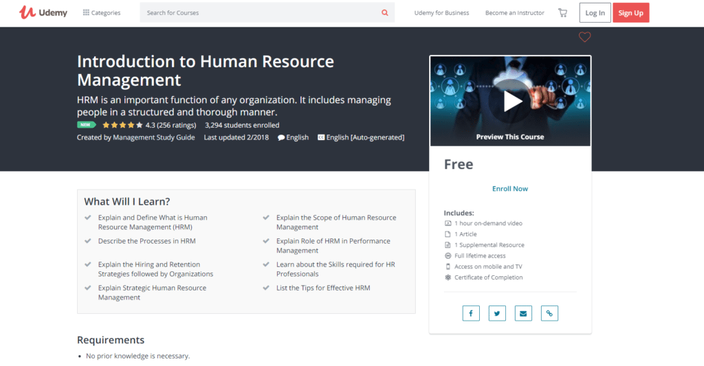 The 20 Best Free Online Courses in Human Resources