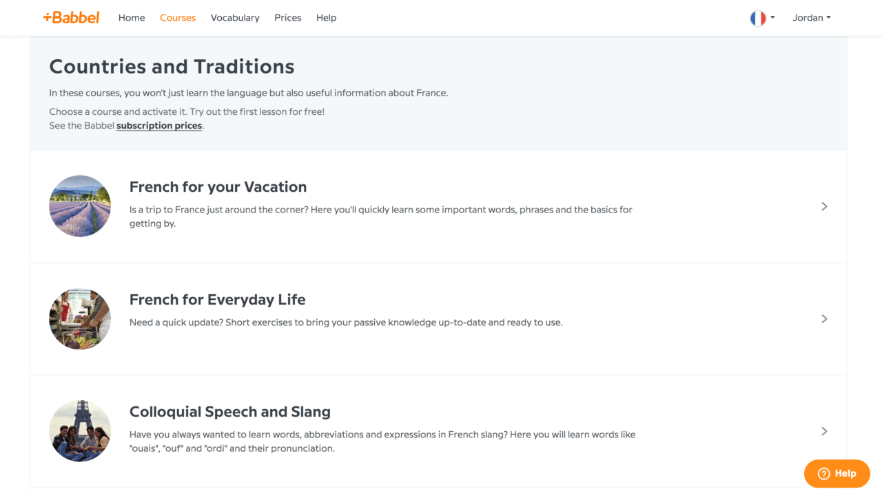 Babbel: The Practical Language Learning App
