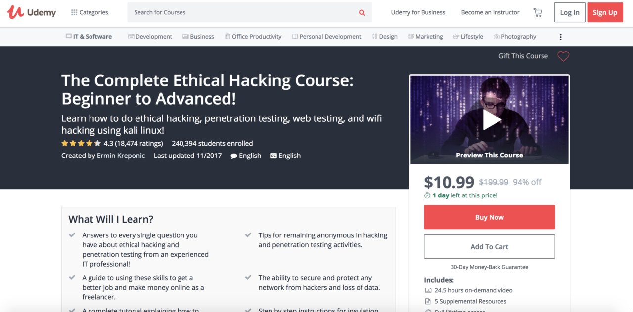 The Best Online Courses in Cyber Security